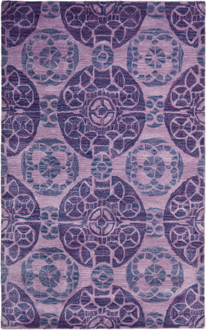 Rugstudio Sample Sale 66439R Purple Area Rug