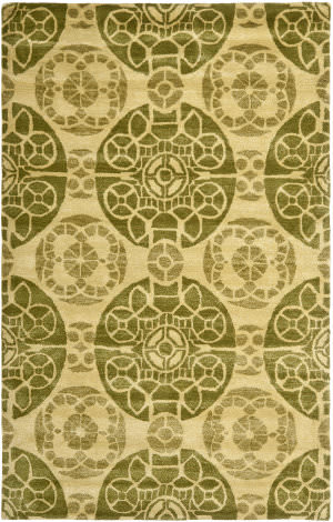 Safavieh Wyndham Wyd376l Honey / Green Area Rug