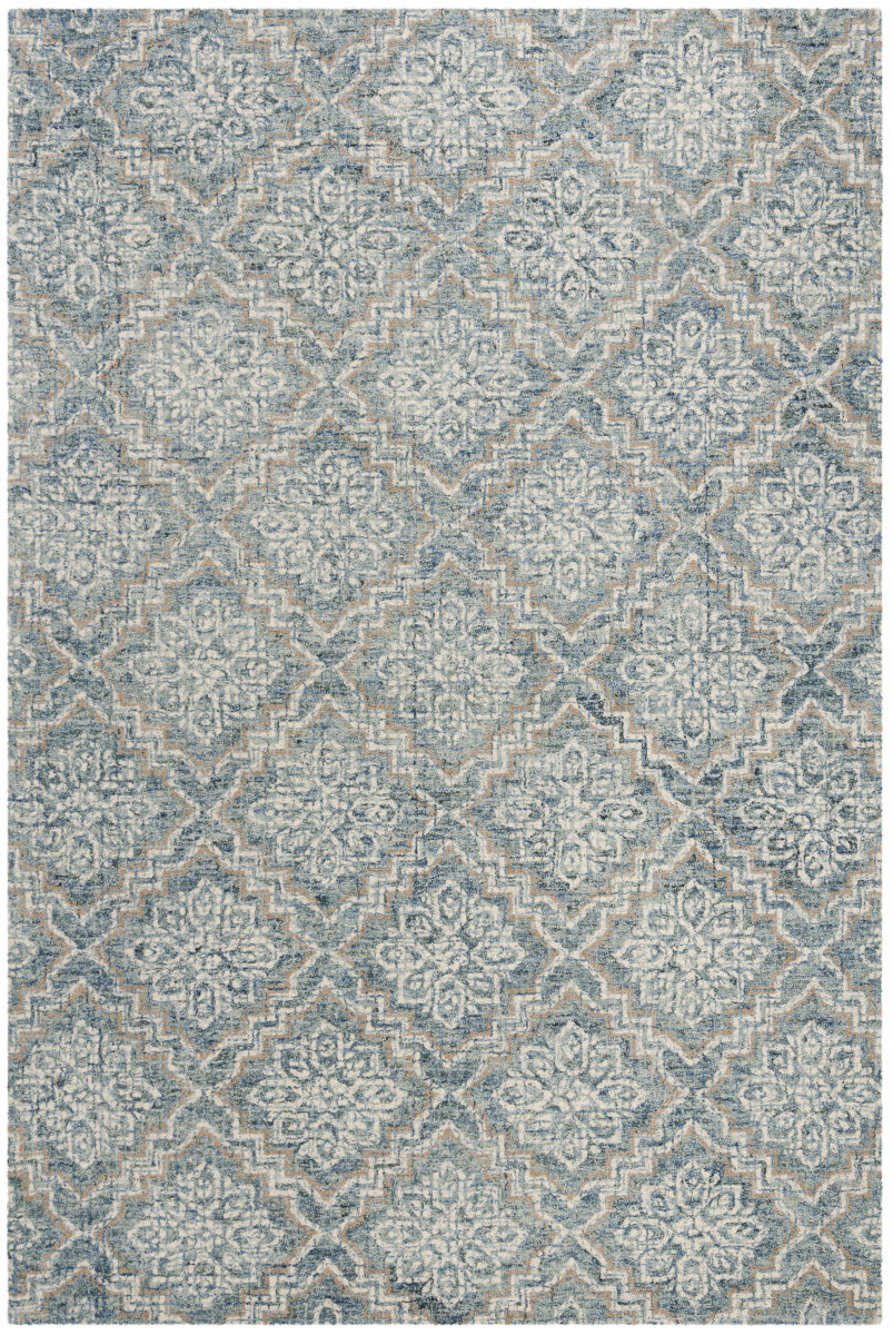 Picture of: Safavieh Abstract Abt201a Blue Grey Rug Studio