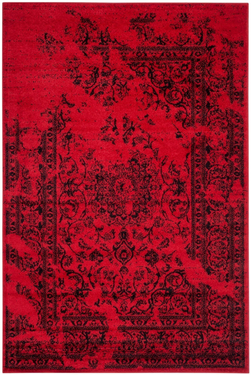 Safavieh Adirondack Adr101f Red Black Rug Studio