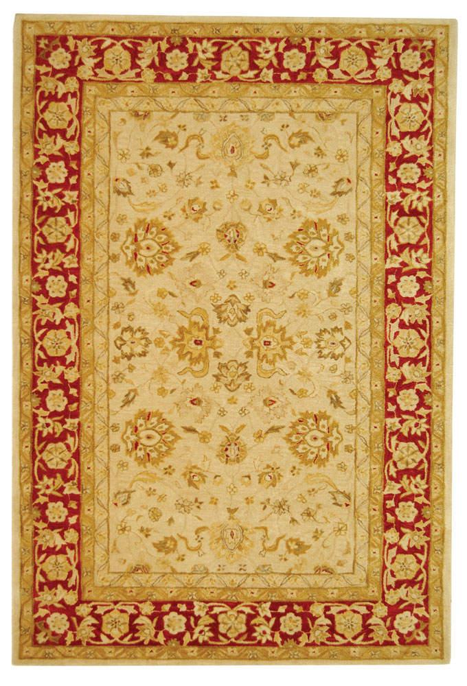 Safavieh Anatolia An522c Ivory Red Clearance Rug Studio