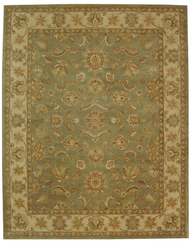 Safavieh Antiquities At313a Green Gold Clearance Rug