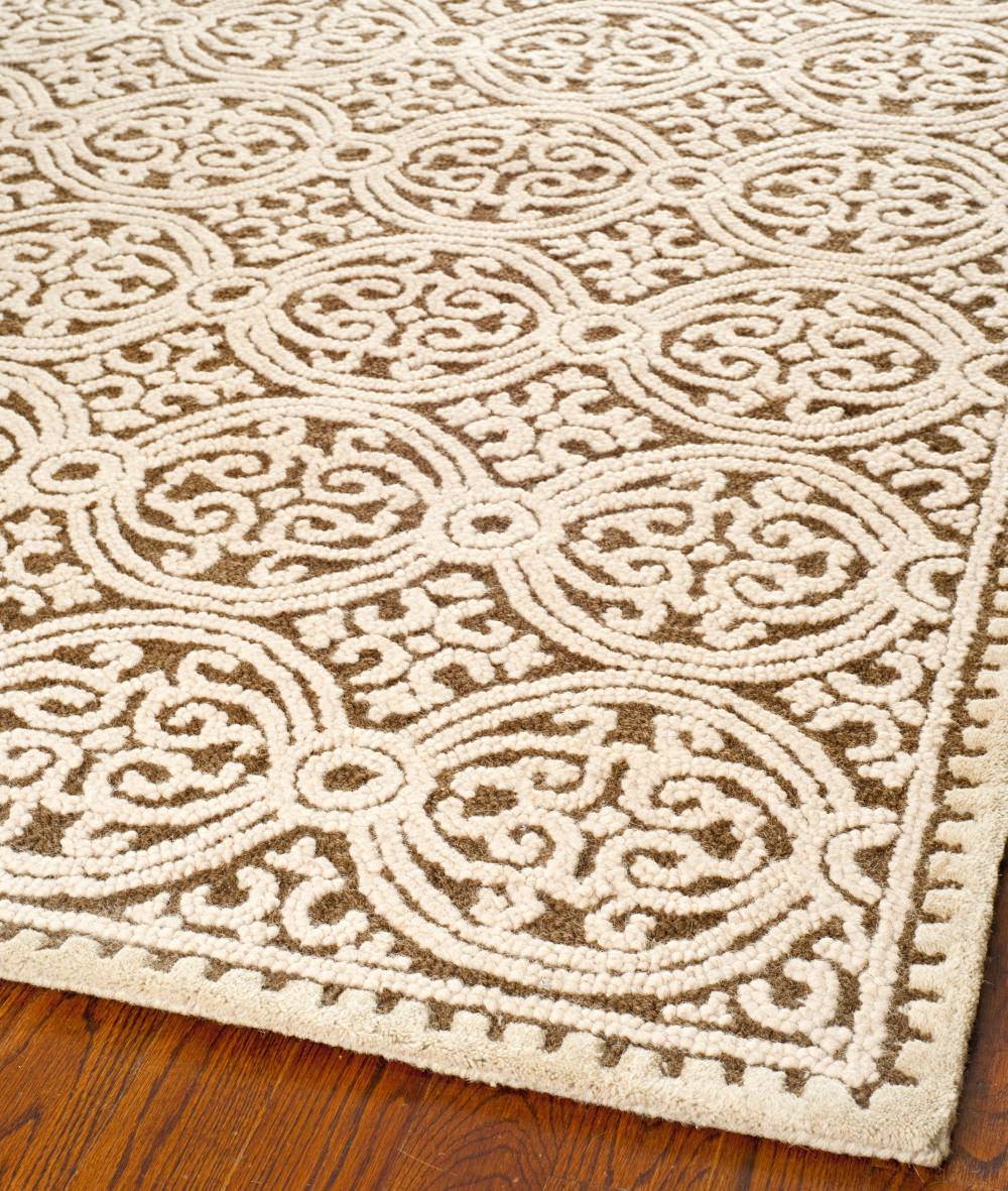 Safavieh Cambridge Cam232a Brown White Clearance Rug