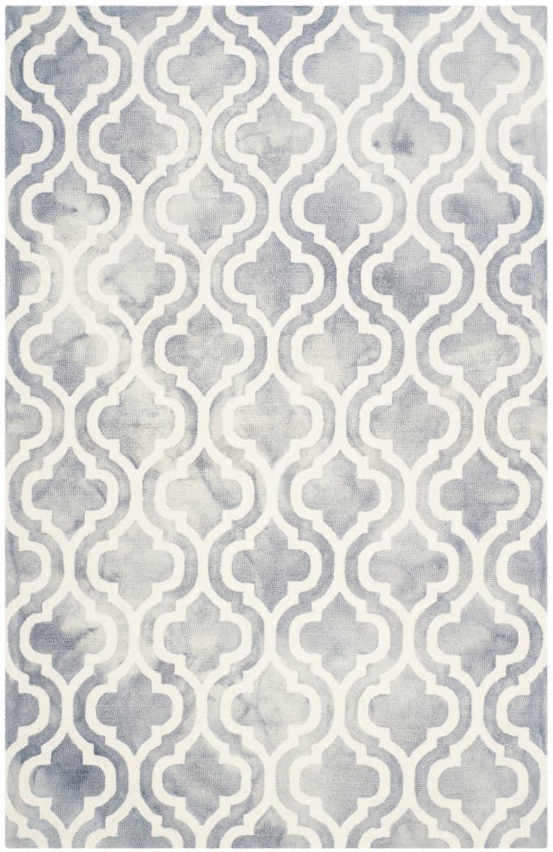 Safavieh Dip Dye Ddy537c Grey Ivory Area Rug 143293