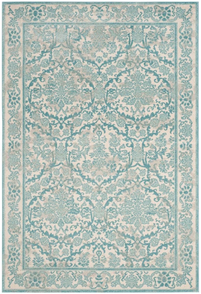 Safavieh Evoke Evk242c Ivory Light Blue Area Rug 155267