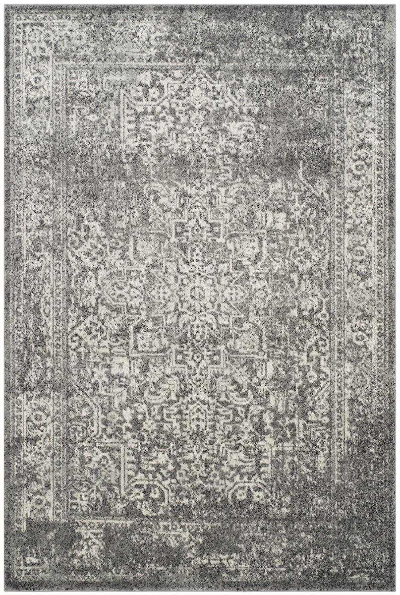 Safavieh Evoke Evk256d Grey Ivory Area Rug 155277