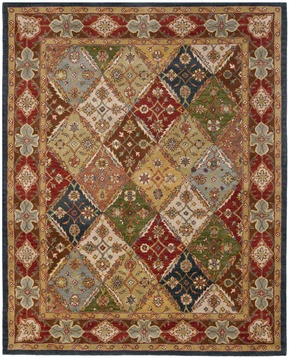 Safavieh Heritage Hg316b Green Red Rug Studio