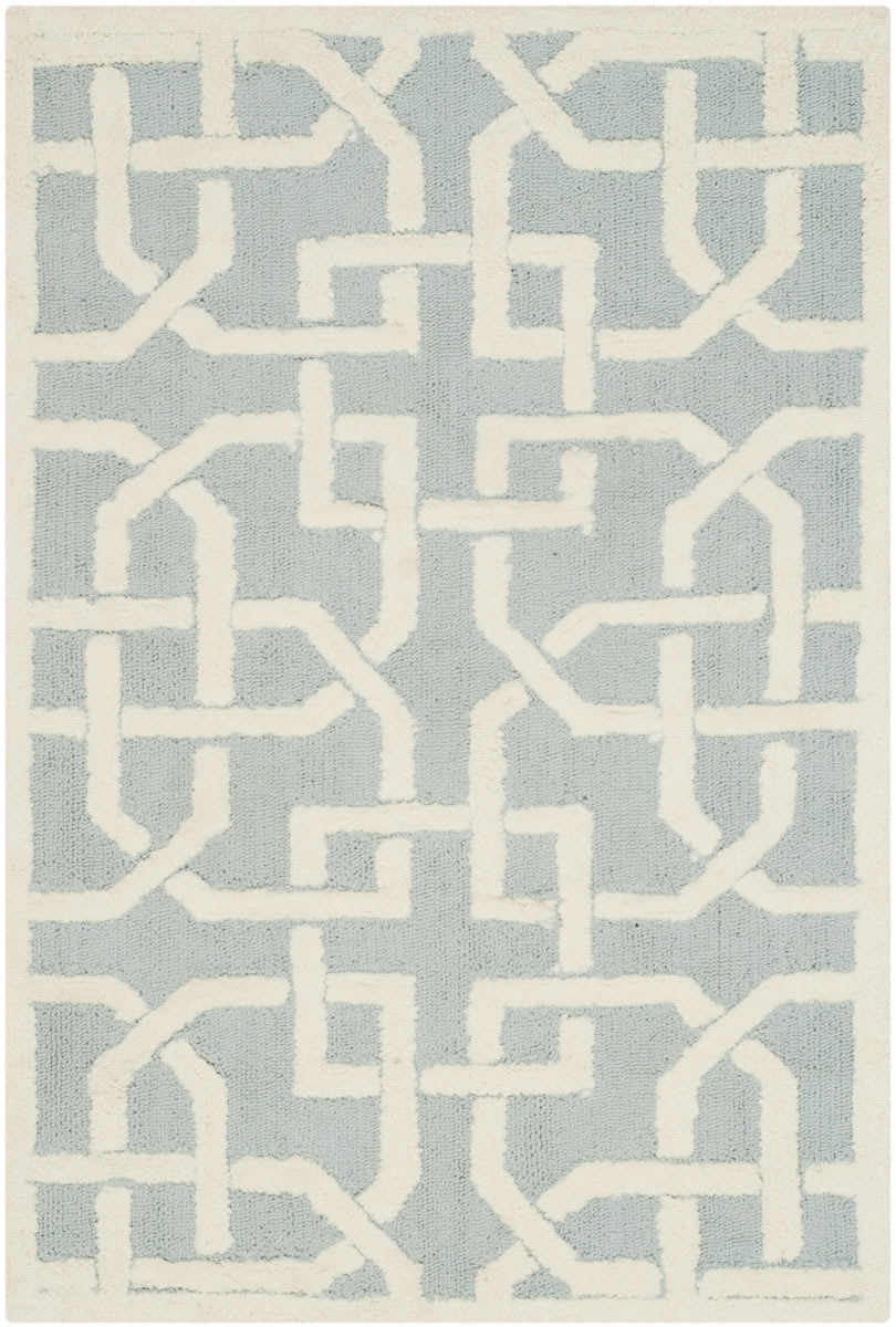 Picture of: Safavieh Newport Npt441b Light Blue White Rug Studio