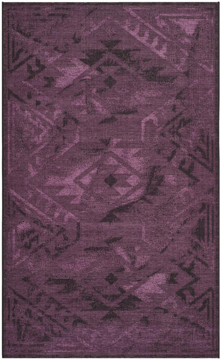 Palazzo PAL122-56C7 Black - Purple