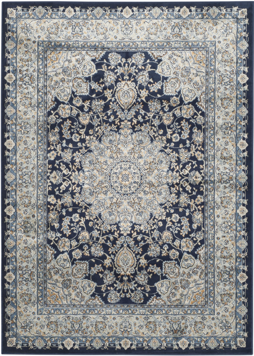 Safavieh Persian Garden Peg605t Navy Light Blue Rug Studio