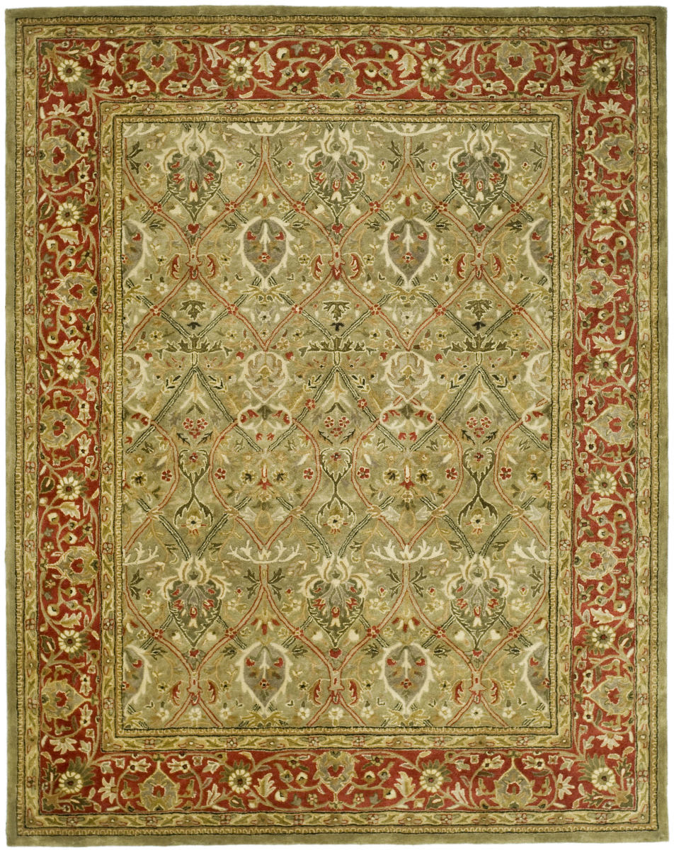 Safavieh Persian Legend Pl819b Light Green Rust