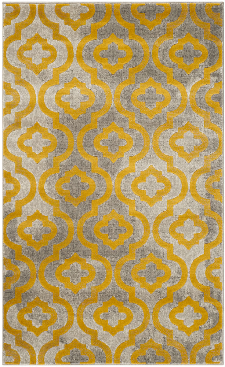 Safavieh Porcello Prl7734 Light Grey Yellow Clearance Rug Studio