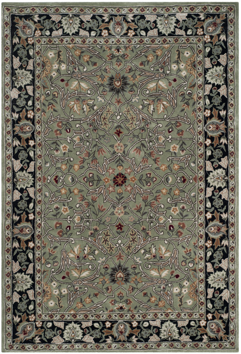 Safavieh Total Performance Tlp715a Green Black Rug Studio