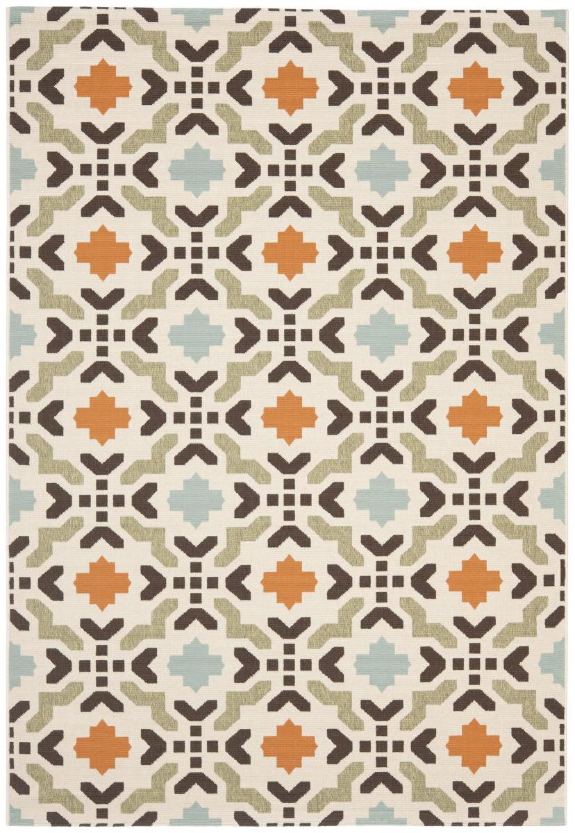Safavieh Veranda Ver080 712 Cream Terracotta Rug Studio