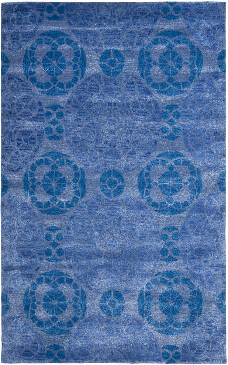 Rugstudio Sample Sale 66417r Blue Last Chance Rug Studio