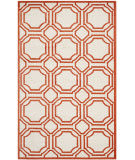 Safavieh Amherst Amt411f Ivory / Orange Area Rug