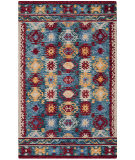 Safavieh Aspen Apn505a Blue - Red Area Rug