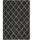 Safavieh Arizona Shag Asg742c Anthracite - Beige Area Rug