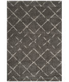 Safavieh Arizona Shag Asg743b Brown - Ivory Area Rug