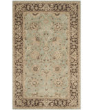 Safavieh Antiquities AT21H Green - Brown Area Rug