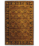 Safavieh Antiquities AT51B Dark Plum - Gold Area Rug