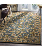 Safavieh Antiquities AT52C Blue - Gold Area Rug