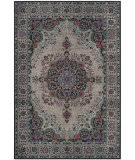 Safavieh Artisan Atn334l Light Grey - Black Area Rug