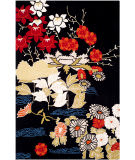 Safavieh Bella Bel124a Black - Multi Area Rug