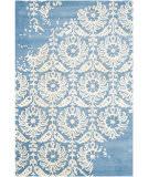 Safavieh Bella Bel125c Light Blue - Ivory Area Rug