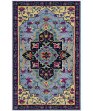 Safavieh Bellagio Blg506b Light Blue - Multi Area Rug