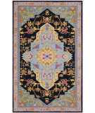 Safavieh Bellagio Blg506c Navy Blue - Multi Area Rug