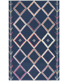 Safavieh Bellagio Blg563n Navy - Multi Area Rug