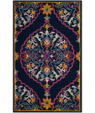 Safavieh Bellagio Blg605c Navy Blue - Multi Area Rug