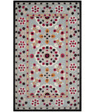 Safavieh Bellagio Blg628b Light Blue - Black Area Rug
