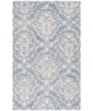 Safavieh Blossom Blm107b Blue - Ivory Area Rug