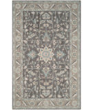 Safavieh Blossom Blm217a Dark Grey - Light Brown Area Rug