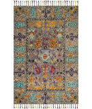 Safavieh Blossom Blm453a Grey - Multi Area Rug