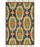 Safavieh Blossom BLM454A Charcoal - Gold Area Rug