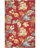Safavieh Blossom Blm672a Red / Multi Area Rug