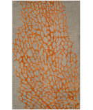Safavieh Blossom Blm695c Grey - Orange Area Rug
