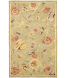 Safavieh Blossom Blm785a Green / Multi Area Rug