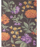 Safavieh Blossom BLM788A Brown / Multi Area Rug