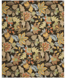 Safavieh Blossom BLM863C Black / Multi Area Rug