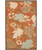 Safavieh Blossom Blm917a Rust / Multi Area Rug