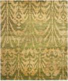 Safavieh Bohemian Boh631a Green / Gold Area Rug