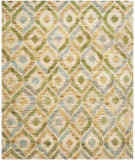 Safavieh Bohemian Boh633a Bleach / Blue Area Rug