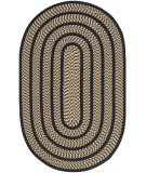 Safavieh Braided Brd401g Beige / Black Area Rug