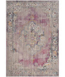 Safavieh Bristol Btl343b Fuchsia - Light Grey Area Rug