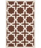 Safavieh Cambridge CAM125H Dark Brown / Ivory Area Rug