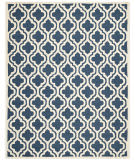 Safavieh Cambridge Cam132g Navy / Ivory Area Rug